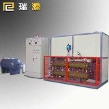 壓機專用240kw電加熱導熱油爐 成套設備現場調試