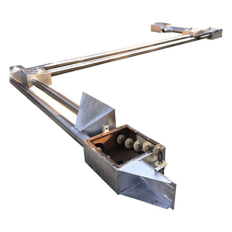 耐腐蚀管链输送机加工 多进料口管链输送机78