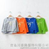 2015春款儿童卫衣最新韩版潮范童装上衣纯棉高品质厂家批发定做