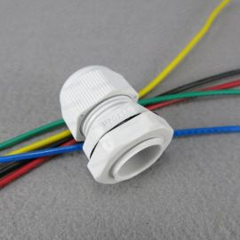 Hanrro灰色M20 x 1.5  6-12mm塑料电缆固定头