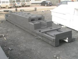 辉宏机械铸造机床铸件毛坯配套机械灰铸铁平台
