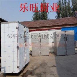 山东邹平厂家提供双门72盘米饭馒头蒸箱一次蒸饭量是多少一盘蒸馒头个数 乐旺食品机械