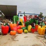 玻璃钢蔬菜水果雕塑厂家直销,可定制