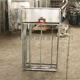 多叶排烟口正压送风口多叶送风口304不锈钢镀锌板铝合金风口艾科
