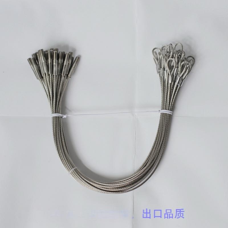 厂家  纺织机械钢索,纺机用小钢丝绳