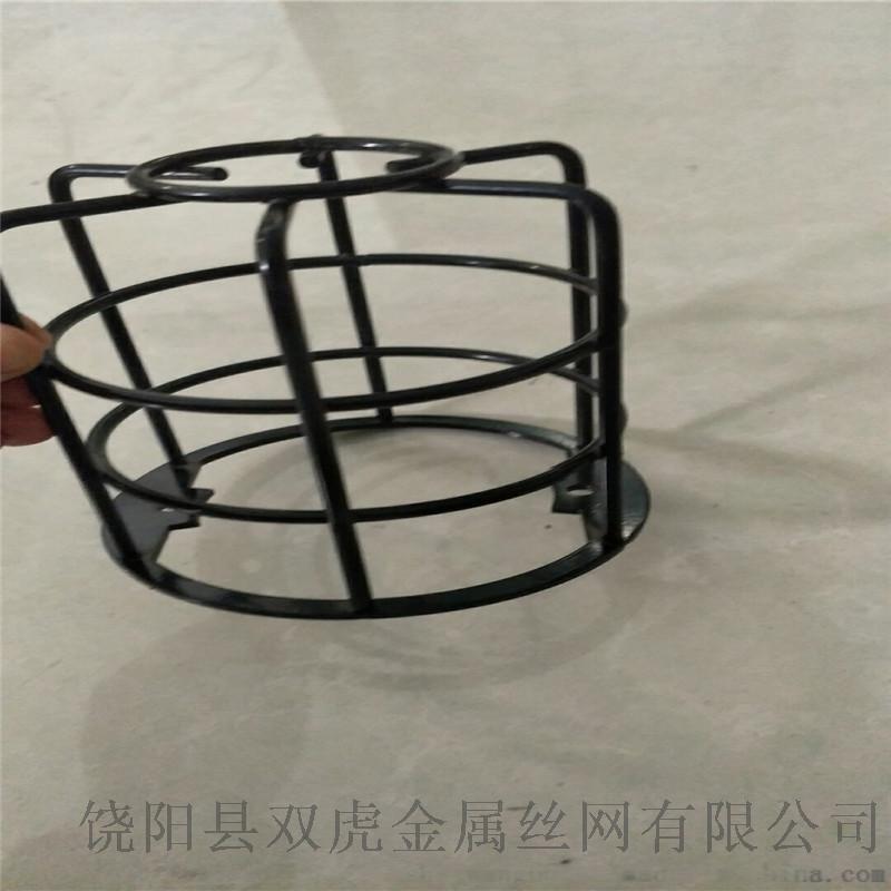 礦井防爆燈罩燈具保護罩金屬網罩