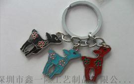 济南钥匙扣定制 羽毛球钥匙链制作 滴胶钥匙牌厂家