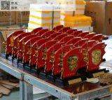 上海哪里有木质盾牌奖章  订做海军海建纪念章