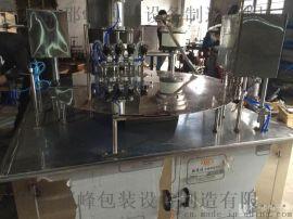 【邵峰机械】1L 袋装洗衣液灌装机一体机  自立袋自动灌装拧盖机