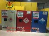 廠家直銷黃色60加侖化學品防火防爆櫃/安全櫃/儲存櫃