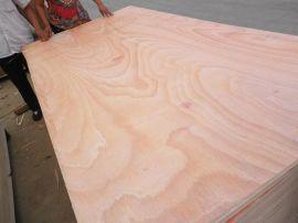 桃花芯三合板奥古曼面多层板板贴木皮用胶合板