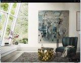 土豪金鱼鳞纹不锈钢家具七件套-不锈钢茶几-爱莎国际创意