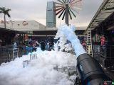 供應杭州充氣水池及噴射泡沫機出租