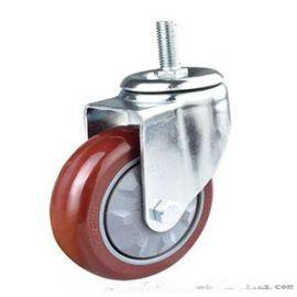 匯一中型絲杆TPR腳輪/PU輪/耐高溫輪