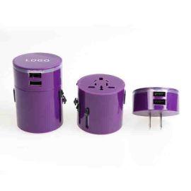 出国旅游转换插座 **转换充电器 双USB旅游转换插座 外国旅游赠送礼品
