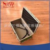 铝合金航空拉杆箱 中型航空箱定制 铝制拉杆工具箱 五金包装箱批
