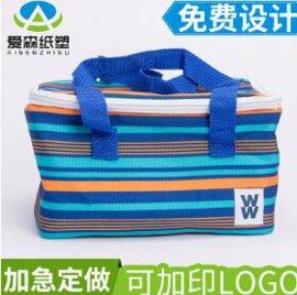 折叠外卖保冷保温包便当包 牛津布手提饭盒保鲜保温袋 背奶冰包袋