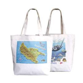 定制环保购物全棉帆布袋广告礼品袋定做LOGO帆布袋
