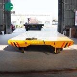 集装箱平车全电动转运车加装拖链保护电缆