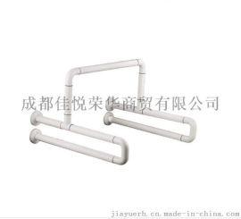 304不锈钢双U型扶手 残疾人无障碍扶手 浴室扶手