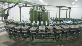 PU成型生产线,鞋底机器设备