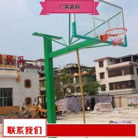 钢化玻璃篮球架生产厂家 移动篮球架特价