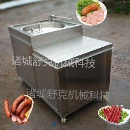 舒克全自动灌肠机器,哈尔滨红肠灌肠机,