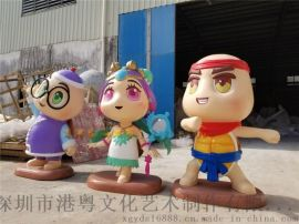 新品雕塑卡通忍者神龟 游戏人物忍者神龟雕塑定制