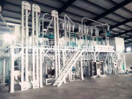 操作大型玉米加工机械要主要安全防护