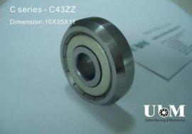 单列斜角滚轮 (C系列-C43-ZZ C43-2RS)
