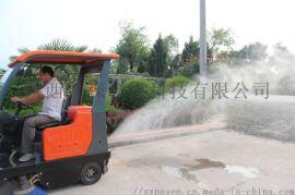陕西普森环保扫地车|驾驶式中小型扫地机