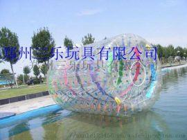水上滾筒好玩的遊樂設備其一