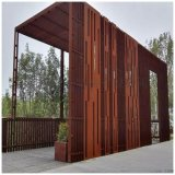 苏州园林景观锈蚀钢板做幕墙 上海