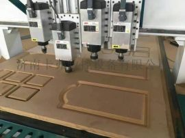 山东卡弗数控板式家具数控四工序自动换刀开料机