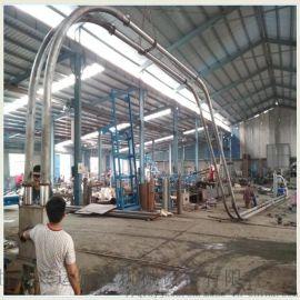 管链输送机链板新品 石英砂灌仓垂直管链机湖州