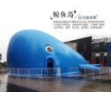 福建三明户外亲子鲸鱼乐园蓝鲸气模出租