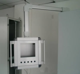 数控机床操作箱,铝合金控制箱,自动化设备控制箱