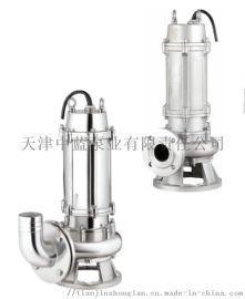 天津不锈钢污水泵 耐腐蚀排污泵 大流量不锈钢污水泵