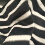 双面骆马绒横条横纹面料服装大衣布料呢子大衣布料