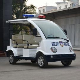 4-5座敞开式电动巡逻车 巡逻电瓶车