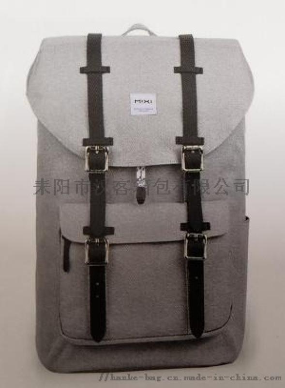 汉客途冠双肩包男士干湿分离户外健身背包旅行游泳包backpack新款跨境