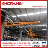 锟恒销售移动式悬臂吊机 BZD1吨立柱式悬臂吊