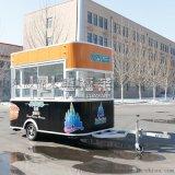 惠福萊美食車廠家直銷多功能燒烤車