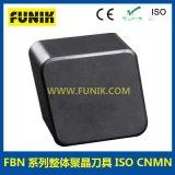 富耐克FBN系列整体聚晶刀具 ISO CNMN 菱形数控车刀片 CBN超硬刀具 立方氮化硼刀片