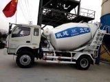 混凝土攪拌運輸車5立方,液壓驅動、風冷式散熱器/品牌:億立/5方罐車