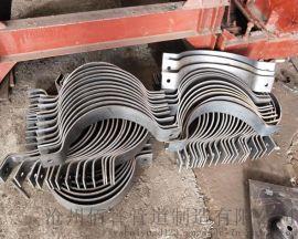 105立管管夹备货充足 汽水管道支吊架D9立管管夹