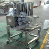 小型土豆饼成型机 成型裹浆油炸线 心形肉饼成型机
