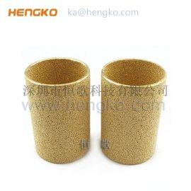 厂家生产耐高温过滤铜烧结过滤筒
