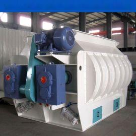 SSHJ双轴桨叶饲料混合机,大型饲料机械设备混合机