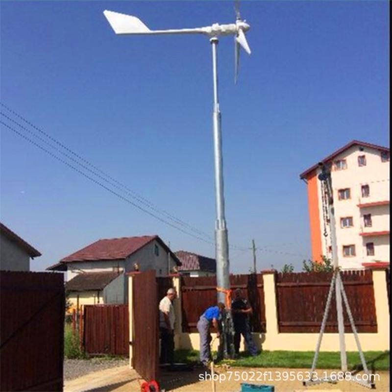 新型低速风力发电机厂家直销低速风力发电机小型家庭用风力发电机